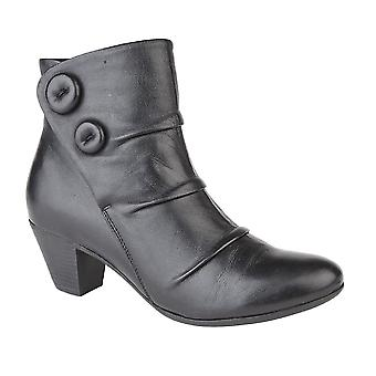 Cipriata Womens/Ladies Emma Button Ankle Boot