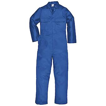 Portwest Mens Euro Workwear Protective Clothing Polycotton Coverall Overalls