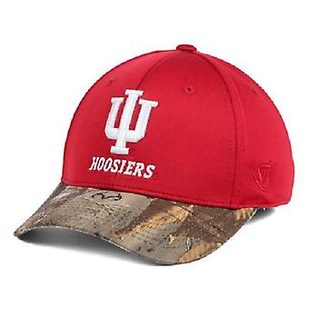 Indiana Hoosiers NCAA TOW Region Camo Stretch Fitted Hat