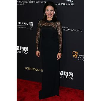 Julia Louis-Dreyfus At Arrivals For 2014 Bafta Los Angeles Jaguar Britannia Awards Presented By Bbc America And United Airlines The Beverly Hilton Hotel Beverly Hills Ca October 30 2014 Photo By Xavie