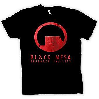 Heren T-shirt - Black Mesa onderzoeksfaciliteit BMRF - Gamer