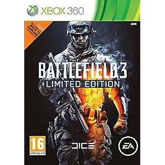 Battlefield 3 limited edition fysisk krigsførelse pack xbox