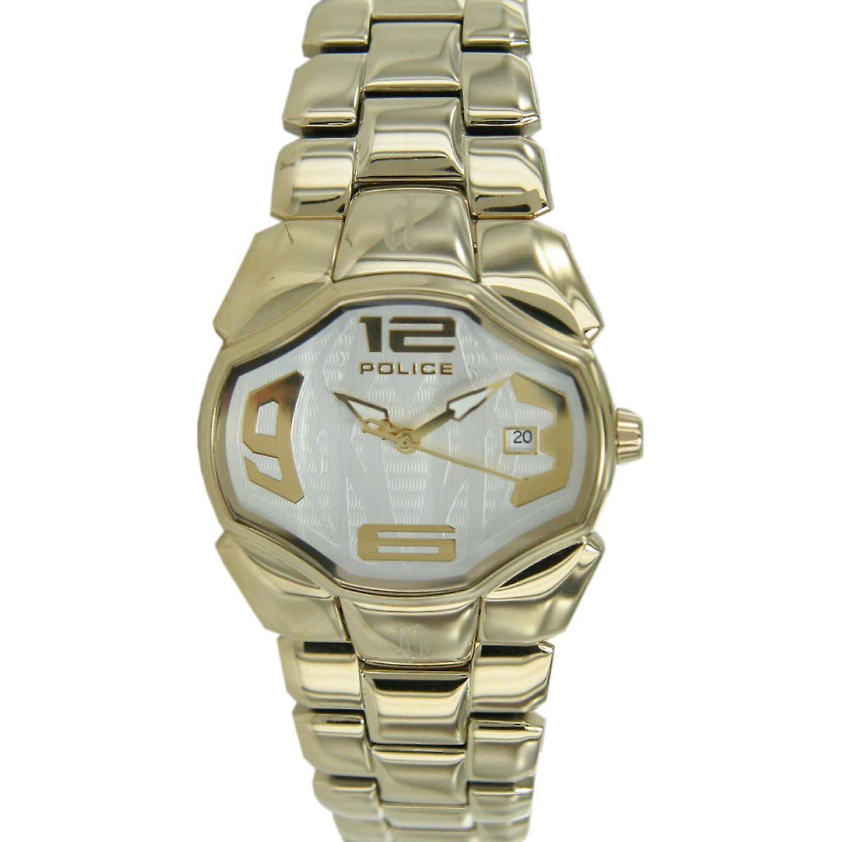 Police ladies watch wristwatch stainless steel gold Angel PL12896BSG / 04 M