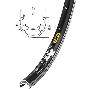 Mavic XM 117 bicycle wheel black / / 559-17 (26″)