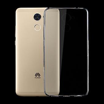 Silikoncase gjennomsiktig 0.3 mm ultra tynn saken for Huawei nyte 7 pluss bag dekke nye