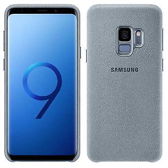 Housse de Samsung Alcantara XG960AMEGWW EF pour housse de Galaxy S9 G960F sac manchon menthe