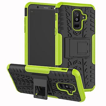 For Samsung Galaxy A6 plus A605 2018 hybrid case 2 piece SWL outdoor green bag case cover protection
