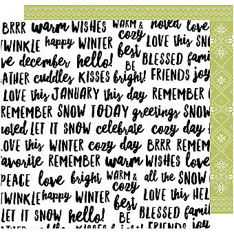 Sweater Weather Double-Sided Cardstock 12