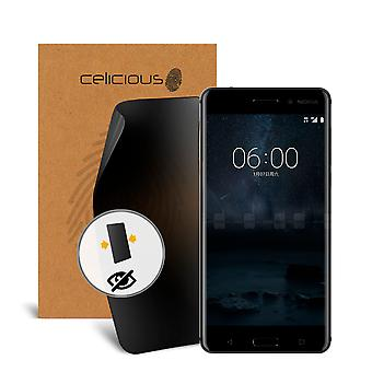 Celicious Privacy 2-Way Visual Black Out Screen Protector for Nokia 6