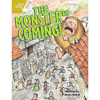Rigby Star Guided 2 Gold Level The Monster is Coming Pupil Book Single by Paul Shipton