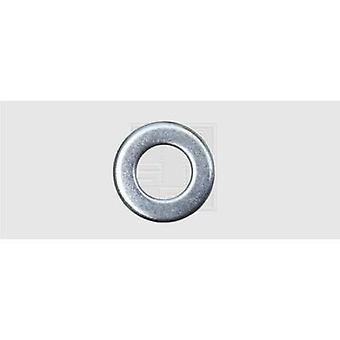 SWG 407620 wasmachine binnen diameter: 6,4 mm M6 DIN 125 staal-Zink plated 100 PC('s)