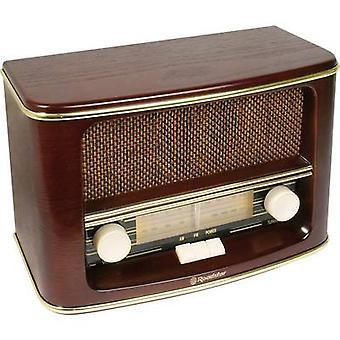 Roadstar HRA-1500N FM Table top radio AM, FM Wood
