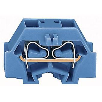 WAGO 260-334 Terminal 8 mm Pull spring Configuration: N Blue 1 pc(s)