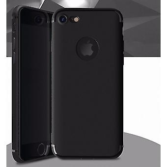 Custodia in silicone nero caso paraurti caso mobile di Apple iPhone 7