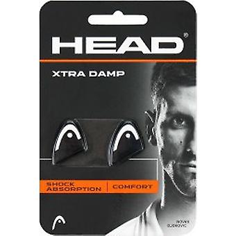 Head Xtra Damp 2-Pack white/black 285511-WH