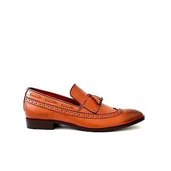 Handcrafted Premium Leather Claro Brown Loafer