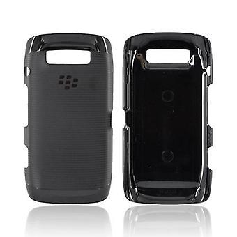 OEM Blackberry Rubber Hardshell with Skin for Blackberry Torch 9850/9860 (Black)