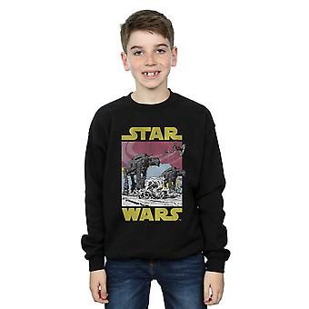 Star Wars Boys The Last Jedi AT-AT Sweatshirt