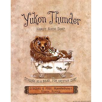 Yukon Thunder Poster Print by Kathy Jennings (11 x 14)