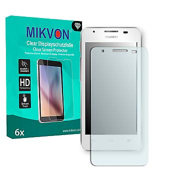 Huawei Ascend G510 Screen Protector - Mikvon Clear (Retail Package with accessories)
