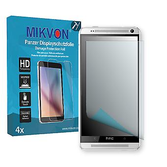 HTC One Max CDMA Screen Protector - Mikvon Armor Screen Protector (Retail Package with accessories)