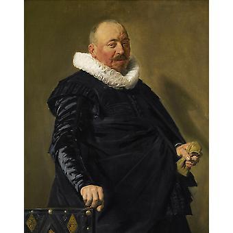 Портрет старика, Антонис ван Дейк, 50x40cm