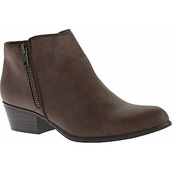 Portland Boot Company Womens Zinnia Leather Closed Toe Ankle Riding Boots
