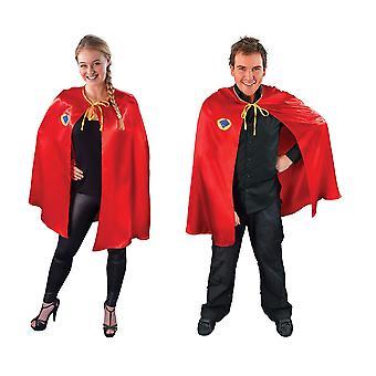 Red Superhero Cape (Unisex).