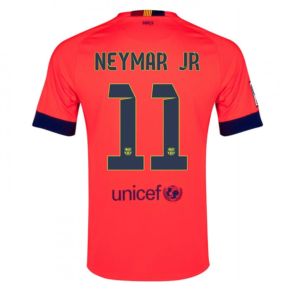 2014-15 Barcelona Away Shirt (Neymar JR 11)