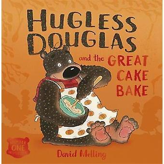 Hugless Douglas en de grote taart bakken - Board boek door David Melling