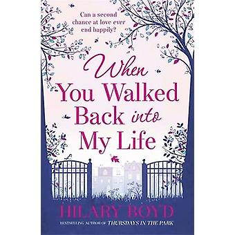 Als Sie ging zurück in mein Leben durch Hilary Boyd - 9781782060932 Buch