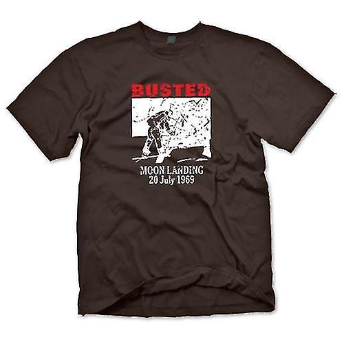 Mens t-skjorte - månelanding spøk 1969 - konspirasjon