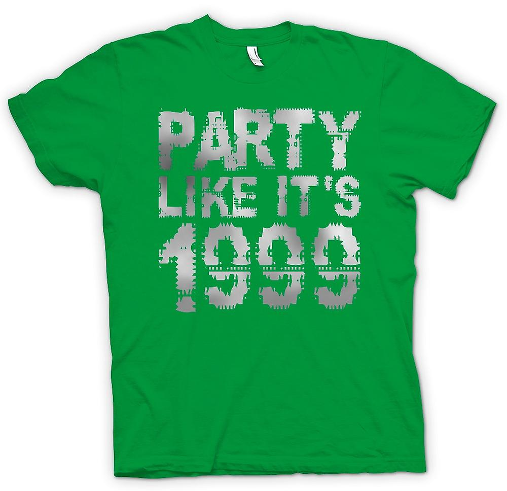 Mens T-shirt - parti comme sa 1999 - Cool