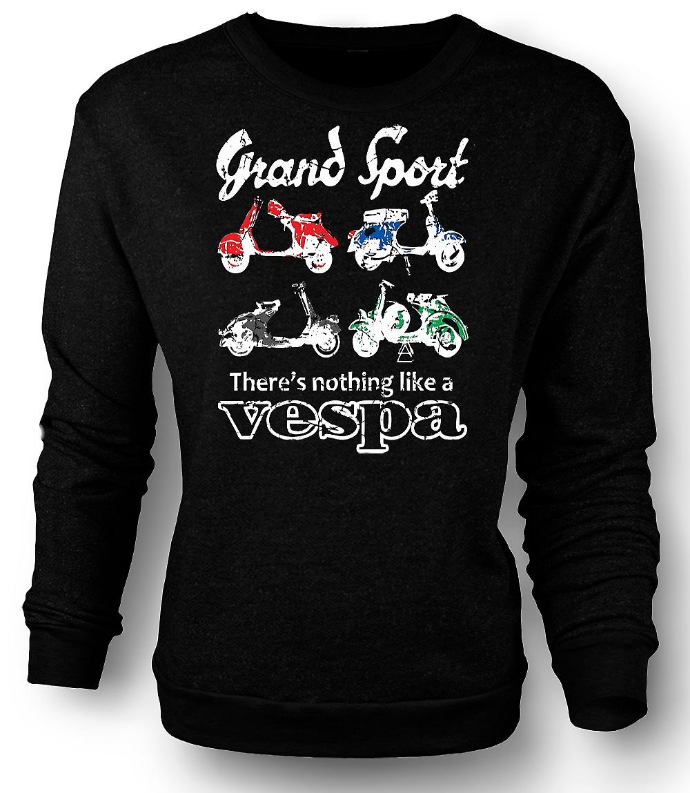 Mens Sweatshirt Vespa Grand Sport - Pop Art