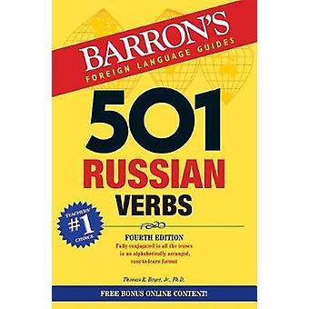 501 Russian Verbs by 501 Russian Verbs - 9781438010410 Book