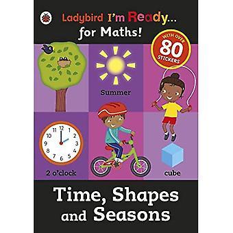 Tijd, Shapes en seizoenen: Ladybird ik ben klaar voor wiskunde sticker werkmap