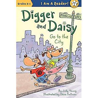 Digger et Daisy vont à la ville (je suis un lecteur: Digger et Daisy)