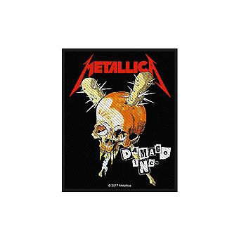 Metallica Patch Damage Inc Band Logo new Official woven sew on 10cm x 8cm