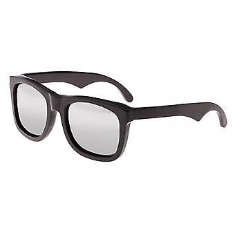 Earth Wood Hampton Polarized Sunglasses - Espresso/Silver
