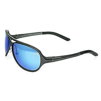 Rasen Langston Aluminium polariserade solglasögon - Gunmetal/blå