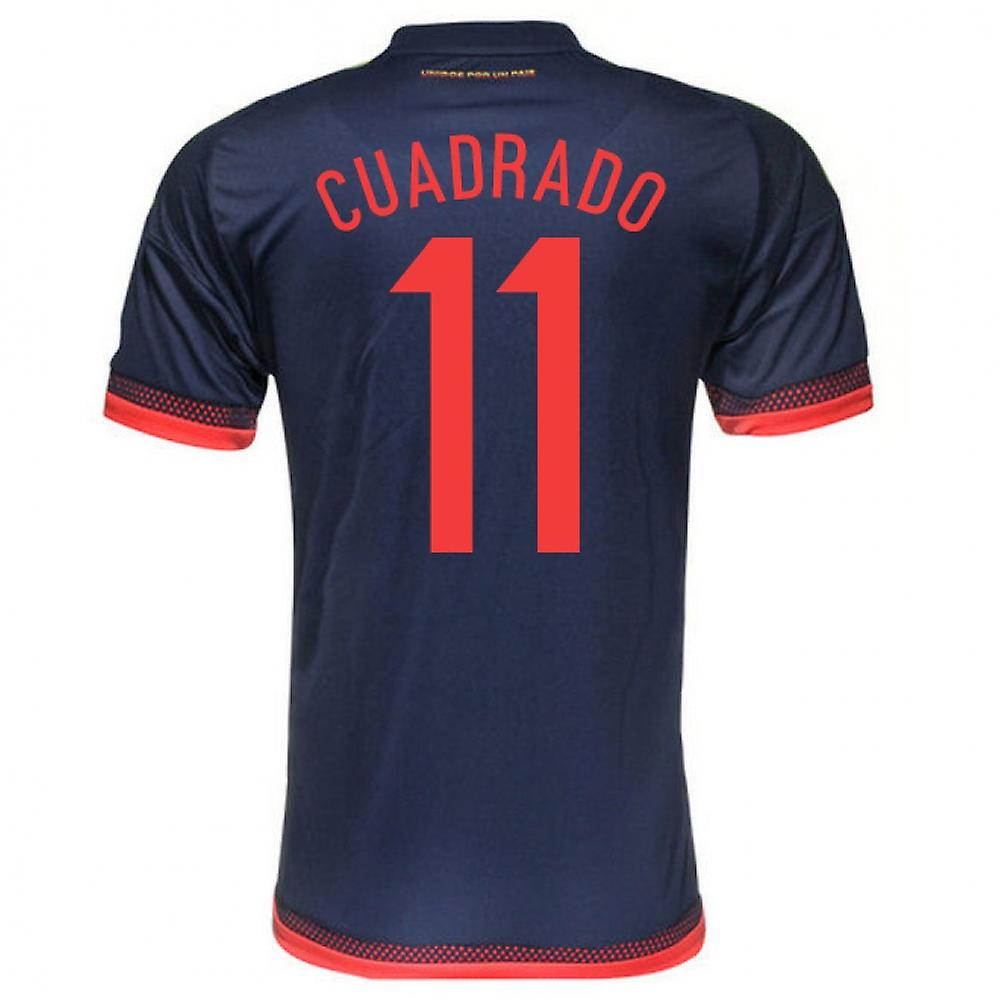 2015-2016 Colombia Adidas Away Shirt (Cuadrado 11)