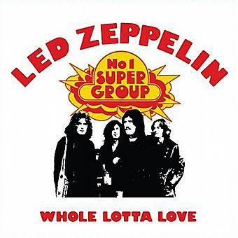Led Zeppelin Whole Lotta Love stål kylskåpsmagnet (ro)
