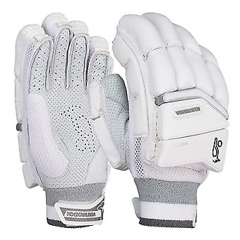 Kookaburra 2019 Ghost 2.0 Cricket Batting Gloves White/Grey