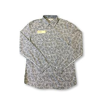 Diesel shirt in black and white paisley pattern