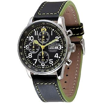 Zeno-watch montre XL chronographe-date pilote spécial P557TVDD a19