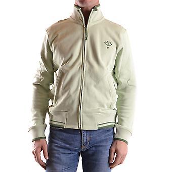 Dekker Green Cotton Sweatshirt