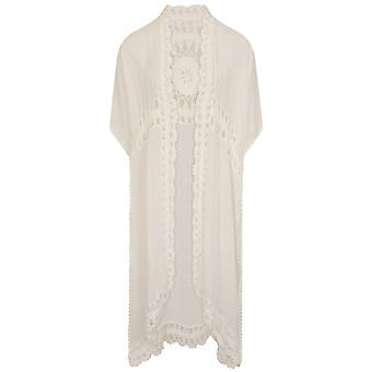 Girls On Film Womens/Ladies Delicata Crochet Detail Cover Up