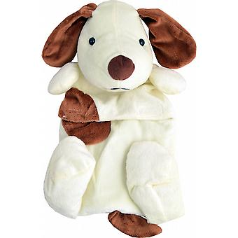 Plush Fleece 0.8L Kids Hot Water Bottle: Hound Dog