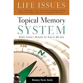 Topical Memory System Life Issues Memory Verse Cards by Navigators th