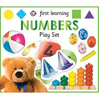First Learning Numbers Play Set by Roger Priddy - 9781783417568 Book